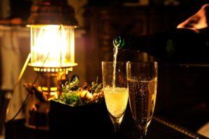 クリスマスパーティーイベント 六本木  スパークリングワイン飲み放題