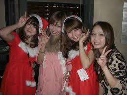 クリスマスパーティー出会い 街コンスナップ画像